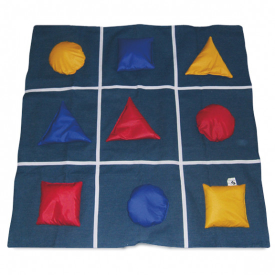Color and shape weighted game