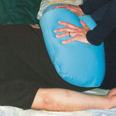 Weighted lycra cushion