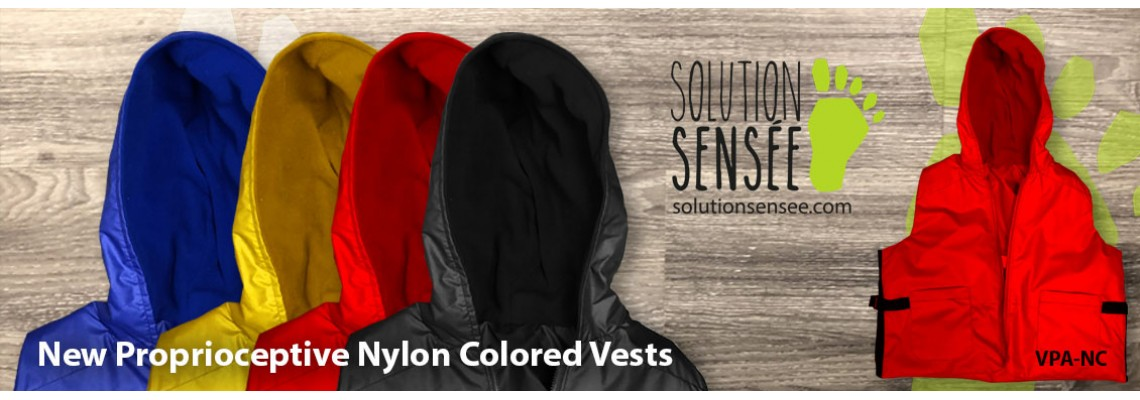 Proprioceptive Colored Nylon Vests with Hood