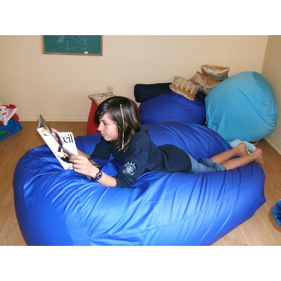 Waterproof nylon cover for denim bean bag